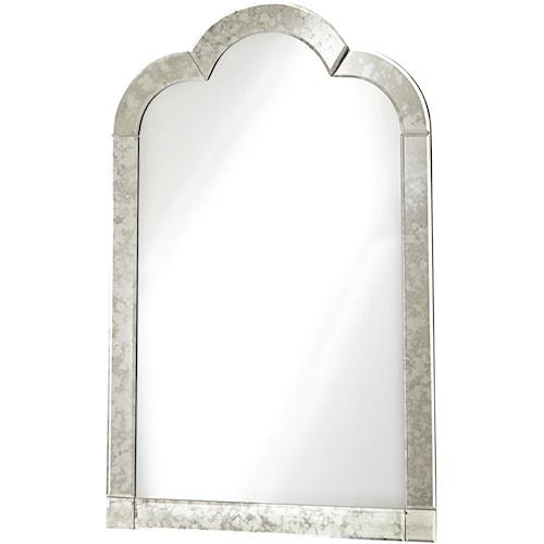 Universal Kids Smartstuff Genevieve Venetian Mirror with Antique Mirror Outer Frame