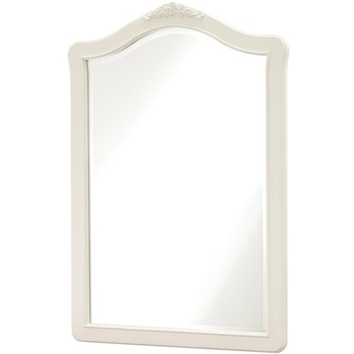 Smartstuff Genevieve Vertical Mirror with Beveled Glass