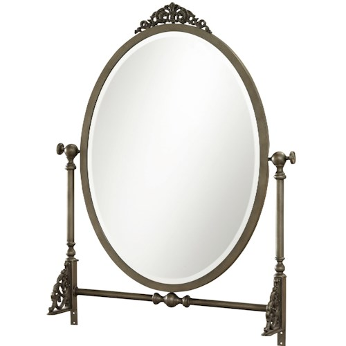 Morris Home Furnishings Penelope Mirror with Tilting Frame