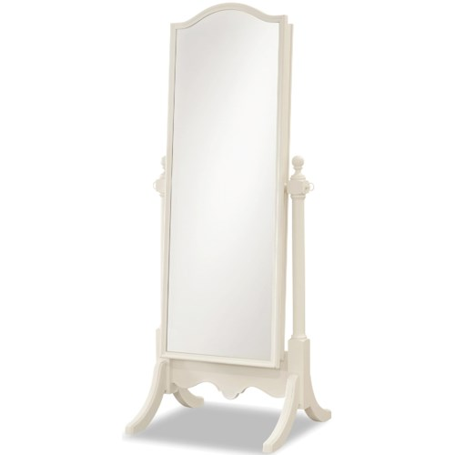 Smartstuff Genevieve Cheval Mirror with Storage