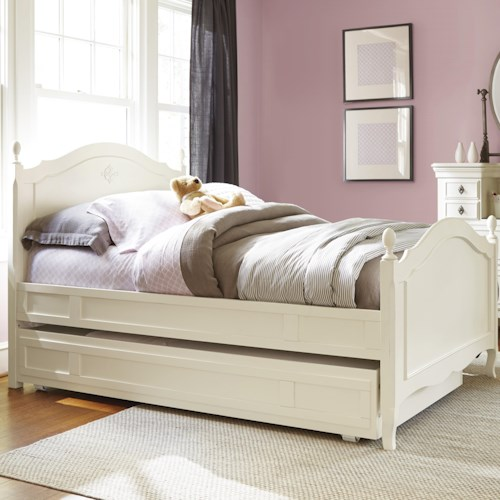 Smartstuff Genevieve Full Reading Bed with Built-In Lighting and Trundle