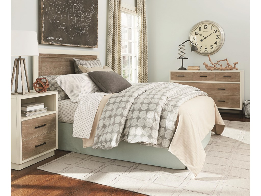 Pair Crib Back with Metal Frame(sold separately) to Create Full Bed