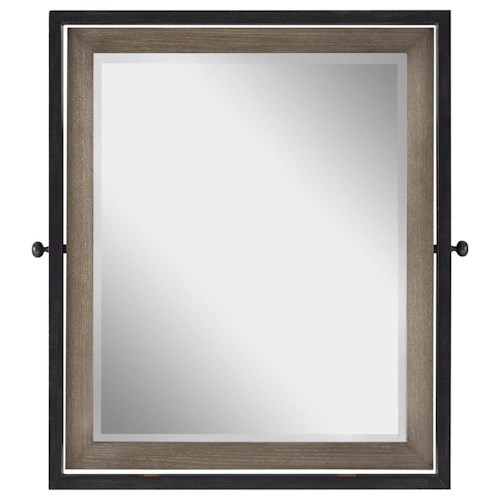 Morris Home Furnishings Torrance Tilt Mirror with Beveled Glass