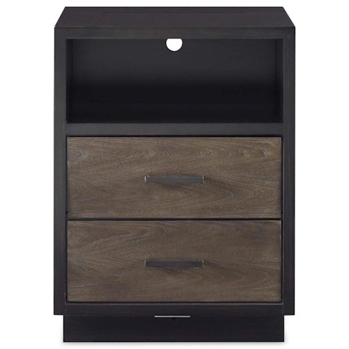Morris Home Furnishings Torrance Nightstand with Power Outlet