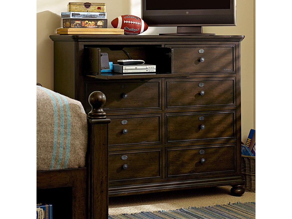 Shown with Top Left Game Console/DVD Player Drawer Dropped Down For Entertainment Purposes