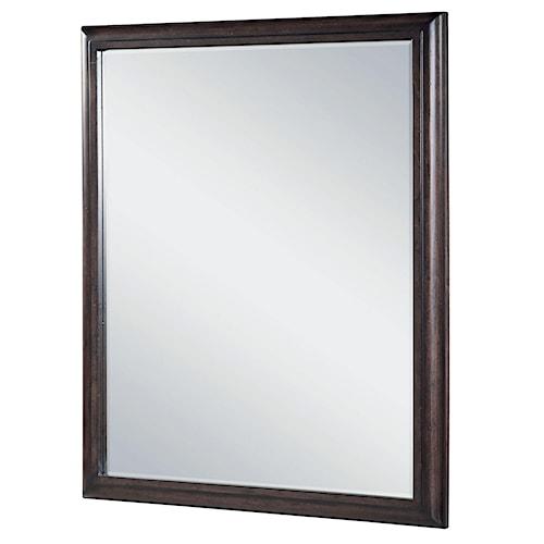 Morris Home Furnishings Pine Valley Vertical Rectangular Mirror