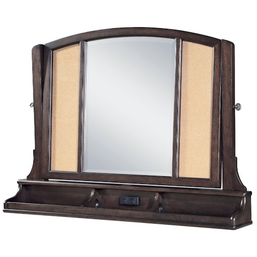 Morris Home Furnishings Pine Valley Jack's Treasures Mirror