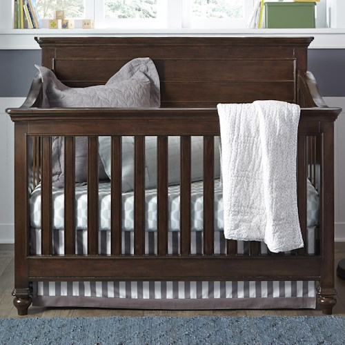 Smartstuff Paula Deen - Guys Convertible Crib with Tapered Bun Feet