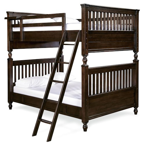 Smartstuff Guys Full Bunk Bed with Rail Post Design