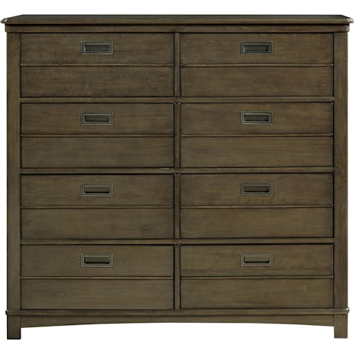 Morris Home Furnishings Varsity Dressing Chest with 8 Drawers