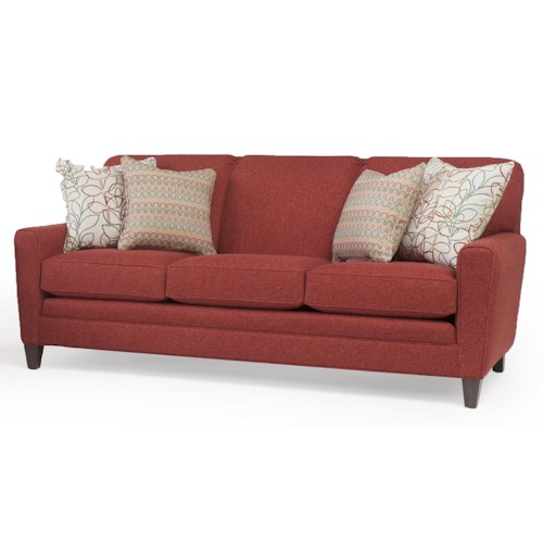 Peter Lorentz 225 Sofa with Tapered Track Arms