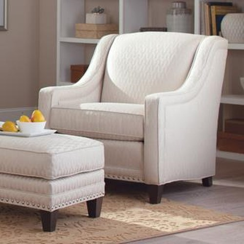 Peter Lorentz 233 Traditional Chair with Nailhead Trim