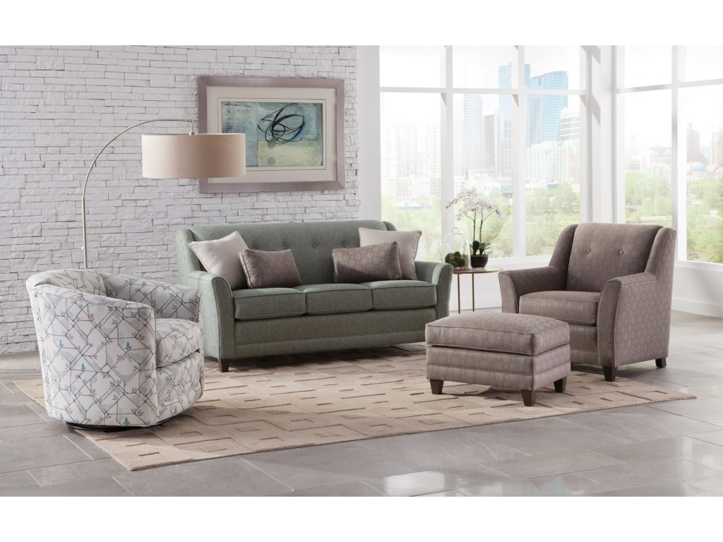 Shown with 506 Swivel Chair