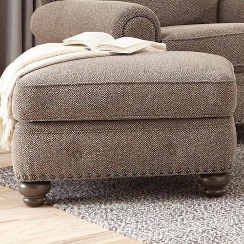 Smith Brothers 237 Traditional Ottoman