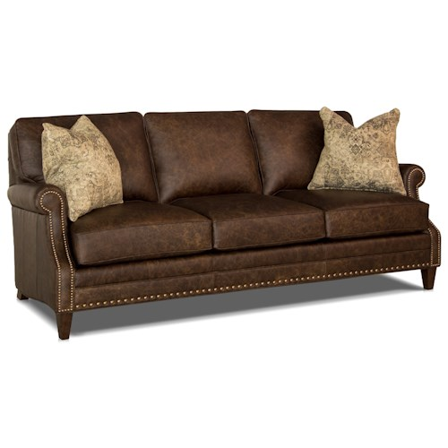 Peter Lorentz 241 Traditional Sofa with Scooped Arms