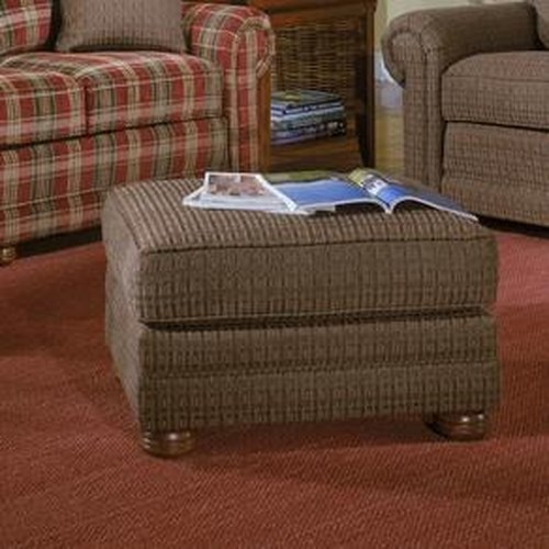Smith Brothers 309 Upholstered Ottoman