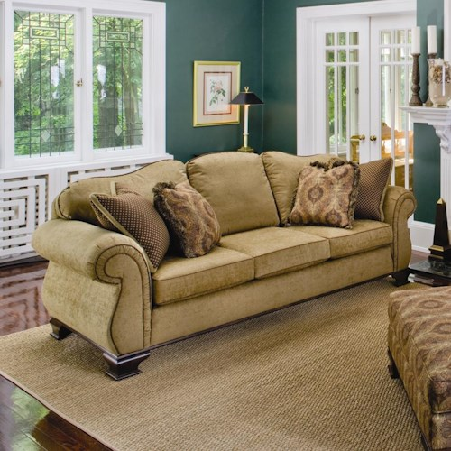 Smith Brothers 336 Upholstered Stationary Sofa