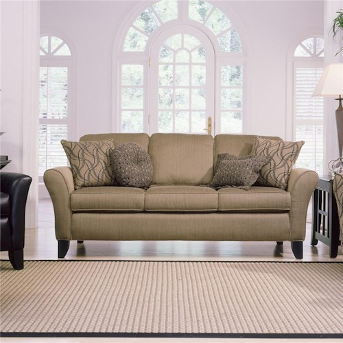 Smith Brothers 344 Upholstered Stationary Sofa