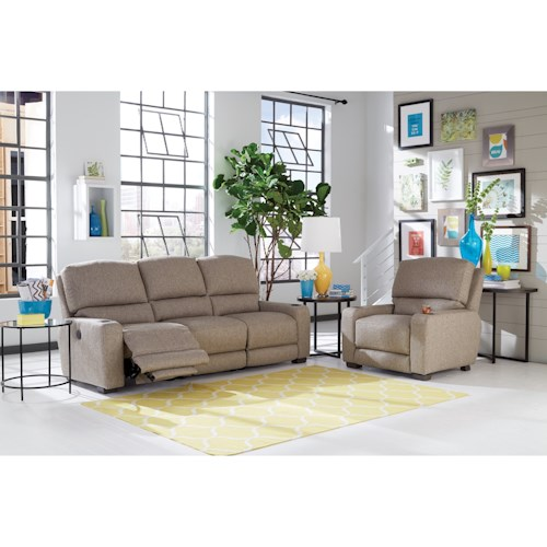 Smith Brothers 415 Reclining Living Room Group