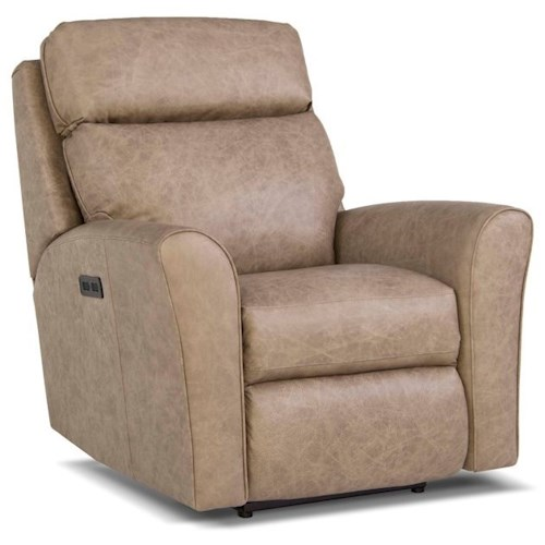 Peter Lorentz 418 Casual Motorized Recliner with Power Headrest