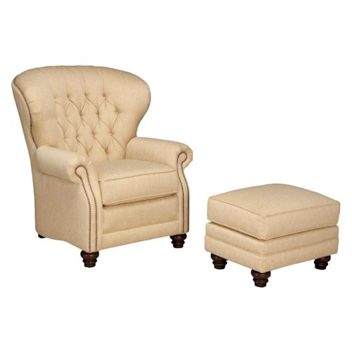 Peter Lorentz 522 Chair and Ottoman Set