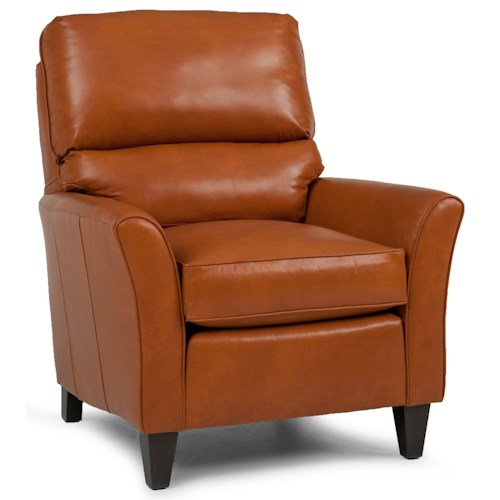 Smith Brothers 524 Casual Chair with Flared Arms