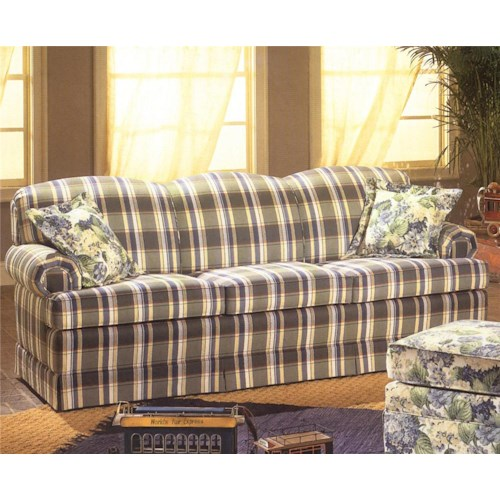 Smith Brothers 657 Pullover Sofa