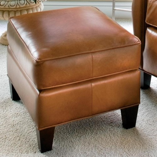 Smith Brothers 933 Casual Ottoman