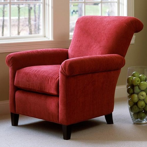 Smith Brothers 961 Upholstered Chair w/ Flared Arms