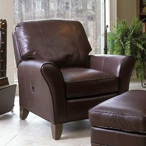 Smith Brothers 966 Tilt-Back Chair w/ Flared Arms