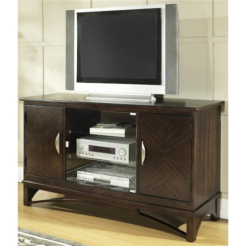 Morris Home Furnishings Cirque Entertainment TV Console Unit