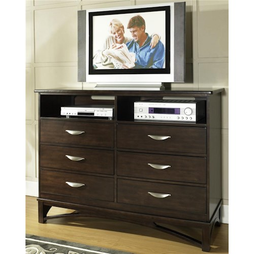 Morris Home Furnishings Cirque Media Chest Of Drawers