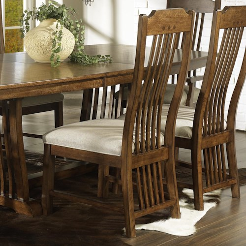 Morris Home Furnishings Craftsman Mission Side Chair
