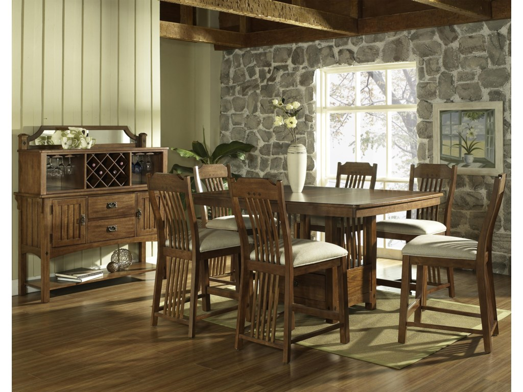 Shown with Bar Table & Stool Set