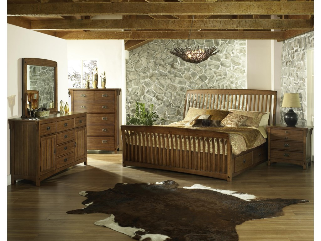 Shown with Chest, Bed with Storage & Nightstand