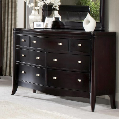Morris Home Furnishings Signature 7 Drawer Dresser