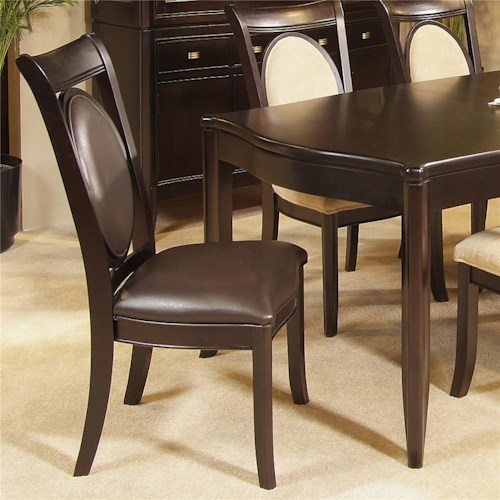 Morris Home Furnishings Signature Bicast Side Chair