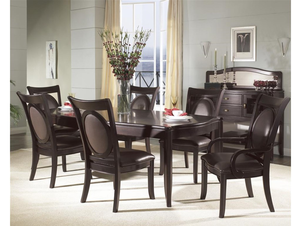 Shown with Arm Chair, Server & Table