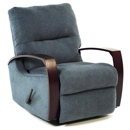 Design to Recline 825 Moonbeam Rocker / Recliner