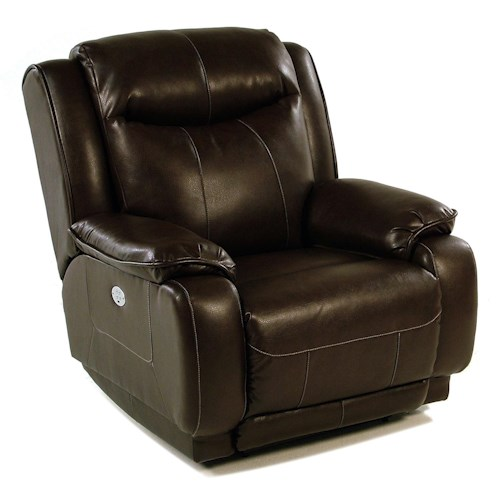 Design to Recline Power-Max Power Wall Recliner w/ Power Headrest