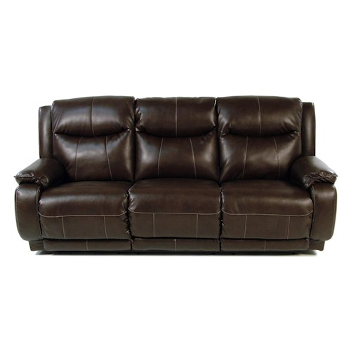 Design to Recline Power-Max Power Reclining Sofa w/ Power Headrest