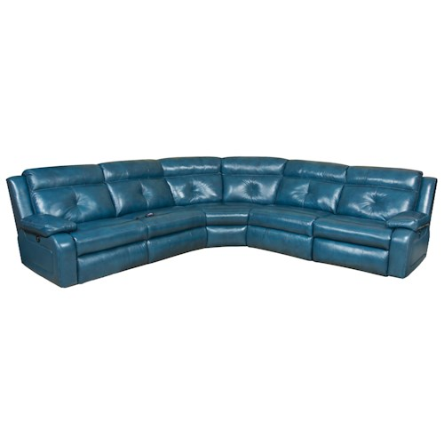Design to Recline Dash  Reclining Sectional Sofa