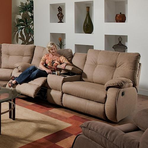 Belfort Motion Jordan Reclining Console Sofa