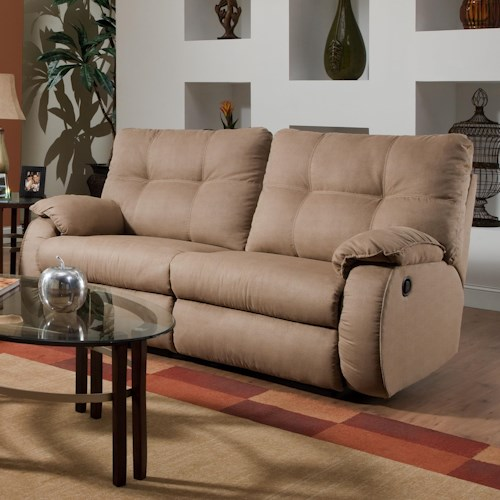 Southern Motion Dodger <b>Power</b> Reclining Sofa