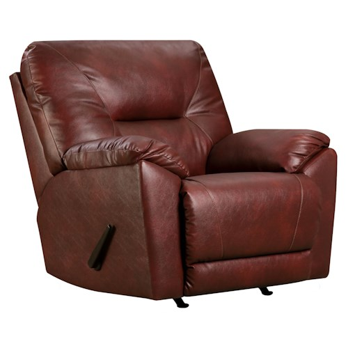 Southern Motion Dynamo Lay-Flat Recliner for Family Rooms