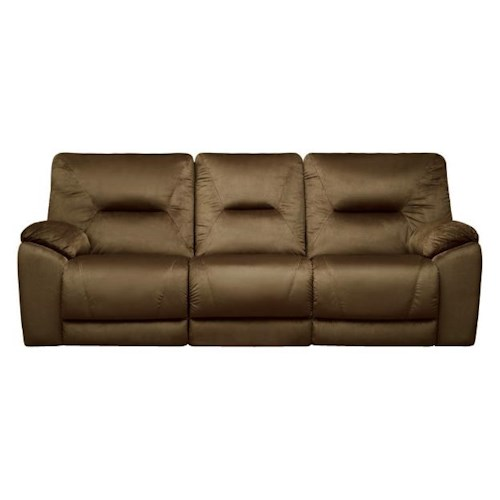Belfort Motion Dynamo Power Double Reclining Sofa for Family Rooms