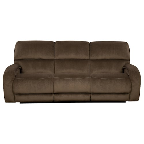 Southern Motion Fandango 884 Power Reclining Sofa with Casual Style for Family Rooms