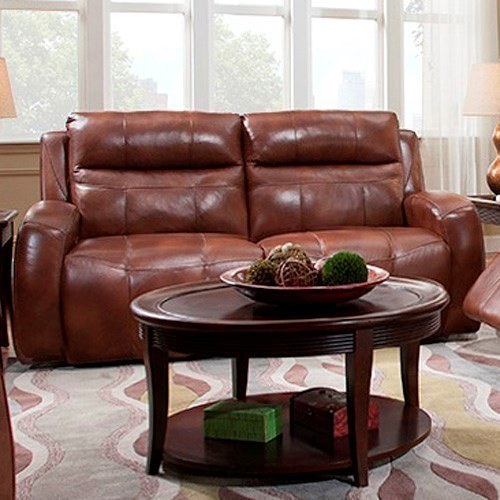 Southern Motion Flight Contemporary Reclining Sofa with Track Arms
