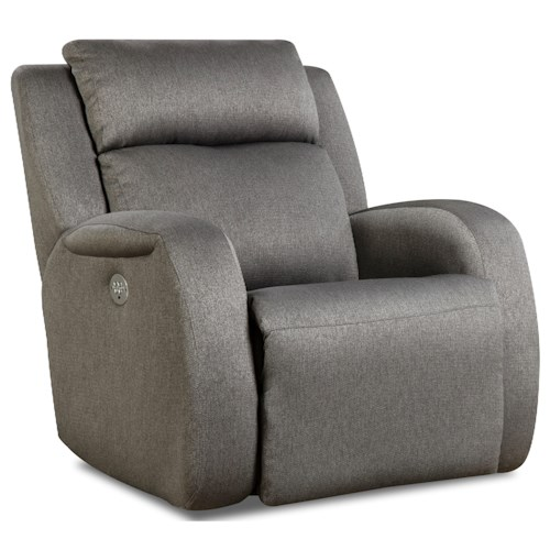 Design to Recline Grand Slam Wall Hugger Recliner with Power Headrest