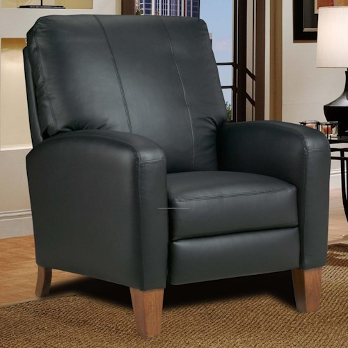 Southern Motion Hi-Leg Power High Leg Recliner with Track Arms